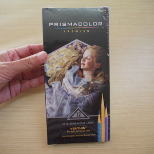 Prismacolor Verithin color pencil set 12